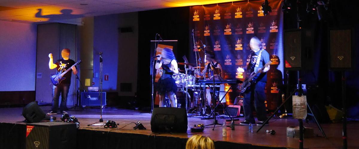 Sonorisation groupe de musiciens - Concerts